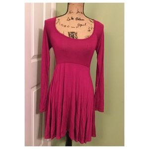 Skater Dress with Open Back